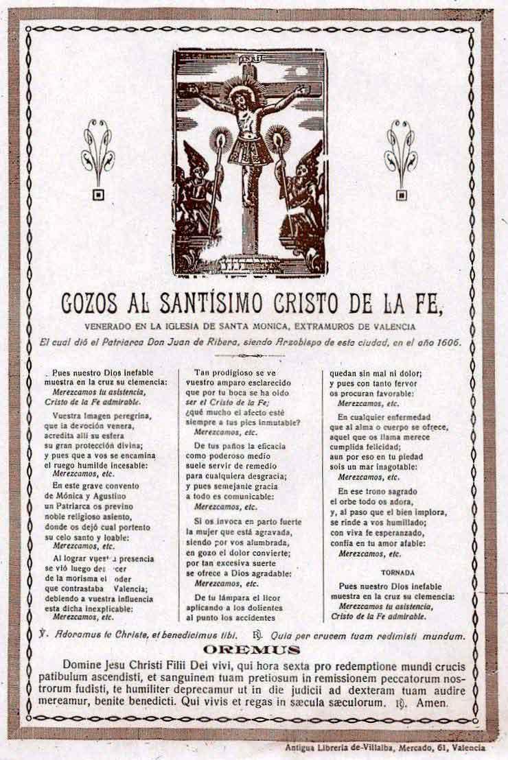 Clavarios del cristo de la fe de valencia fiestas del - La nueva fe de valencia ...